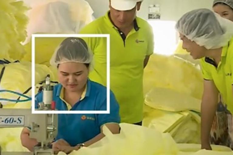 NY Times Uighur labor image