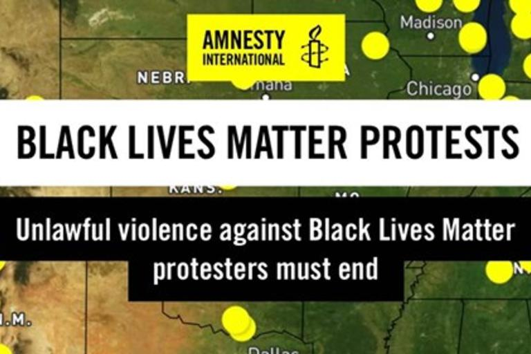 BLM Amnesty report cover