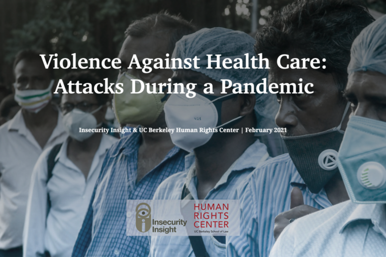 Violence Against Health care cover image