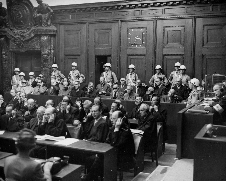 Nuremberg trials photo for protocol